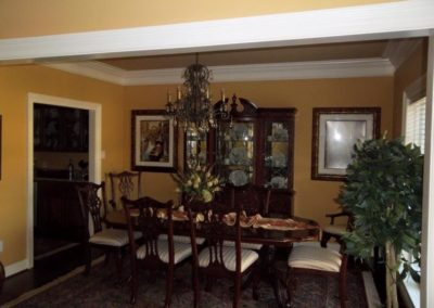 Hallie Brown Builders Dining room